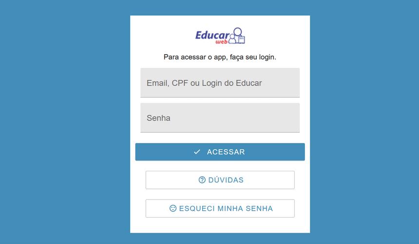 educarweb login